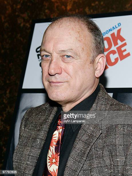John Doman attends the opening night party for The Book Of Grace at Forum on March 16 2010 in New York City