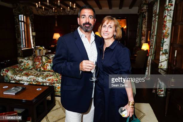John Dorcic and Susan Mathisen attend A Country House Gathering To Benefit Preservation Long Island on June 28 2019 in Locust Valley New York