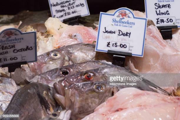 John Dory Fish in Borough Market, London