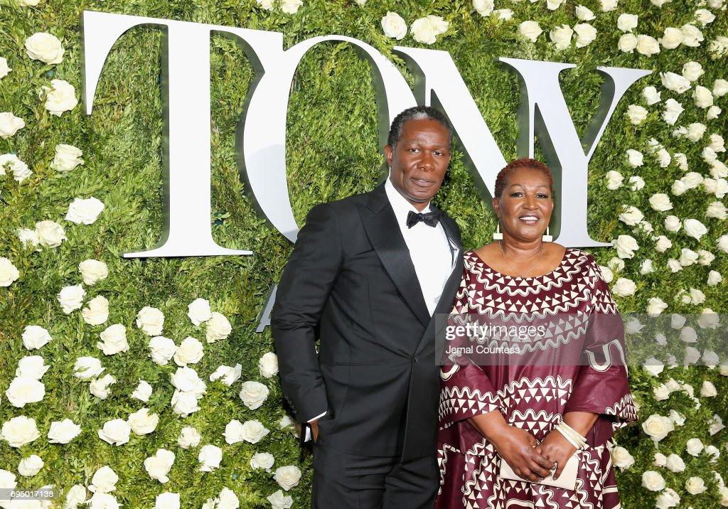 John Douglas Thompson attends the 2017 Tony Awards at Radio City Music Hall on June 11, 2017 in New York City.