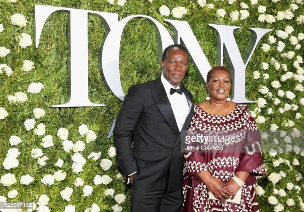 John Douglas Thompson attends the 2017 Tony Awards at Radio City Music Hall on June 11 2017 in New York City