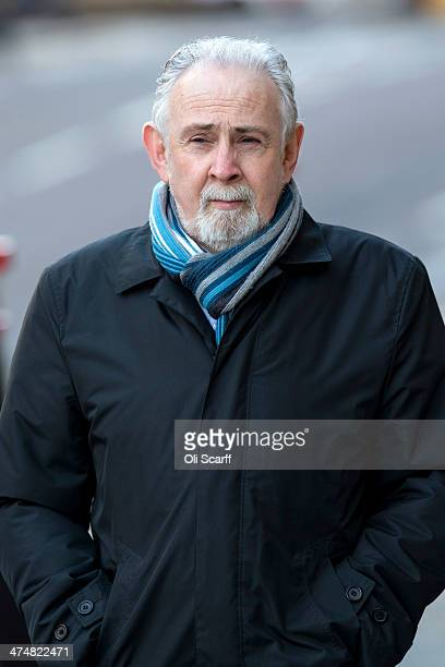 PHOTO John Downey from County Donegal in the Irish Republic arrives at the Old Bailey on February 21 2014 in London England Alleged IRA Hyde Park...