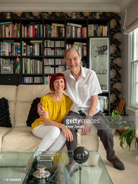 John Downing MBE in the living room of his home with his wife Anita D'Attellis John's career has spanned over five decades and taken him to over 100...