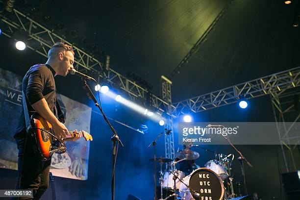 John Duignan and Conall O'Breachain of We Cut Corners performs at Electric Picnic on September 5, 2015 in Stradbally, Ireland.