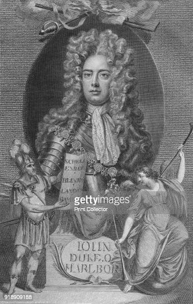 'John Duke of Marlborough' 1790 General John Churchill 1st Duke of Marlborough English soldier and statesman whose career spanned the reigns of five...