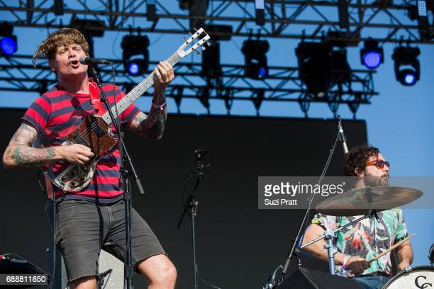 John Dwyer of Thee Oh Sees performs at the Sasquatch Music Festival at Gorge Amphitheatre on May 26 2017 in George Washington