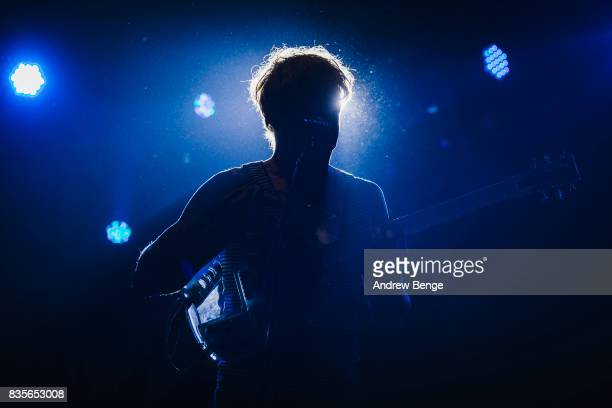 John Dwyer of Thee Oh Sees performs on the Far Out stage during day 3 at Green Man Festival at Brecon Beacons on August 19, 2017 in Brecon, Wales.