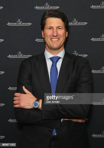 John Eales attends the JaegerLeCoultre Polaris Collection Launch at Carriageworks on May 30 2018 in Sydney Australia