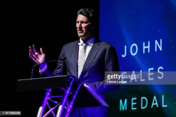 John Eales speaks during the 2019 Rugby Australia Awards at the Seymour Centre on November 14 2019 in Sydney Australia