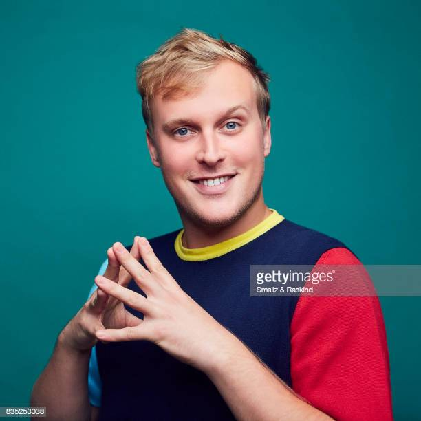 John Early of Turner Networks 'TBS/Search Party' poses for a portrait during the 2017 Summer Television Critics Association Press Tour at The Beverly...