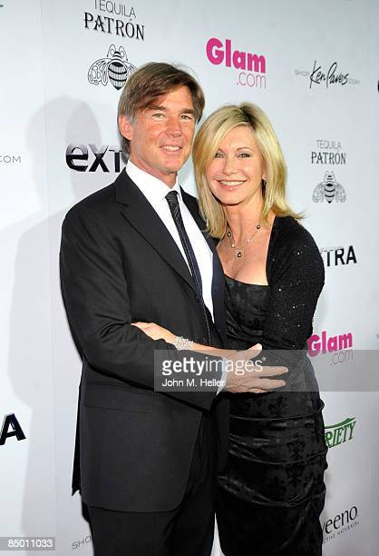 John Eastering and Olivia NewtonJohn attends the 1st Annual Night To Make a Difference At Mr Chow on February 22 2009 in Beverly Hills California