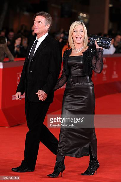 John Easterling and Olivia NewtonJohn attend 'A Few Best Men' Premiere during the 6th International Rome Film Festival at Auditorium Parco Della...