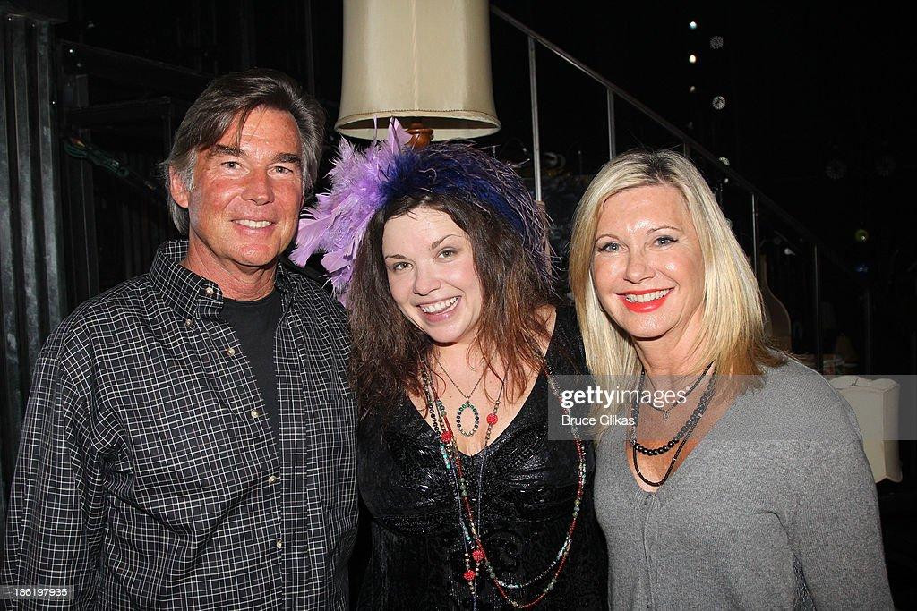 Celebrities Visit Broadway - October 28, 2013