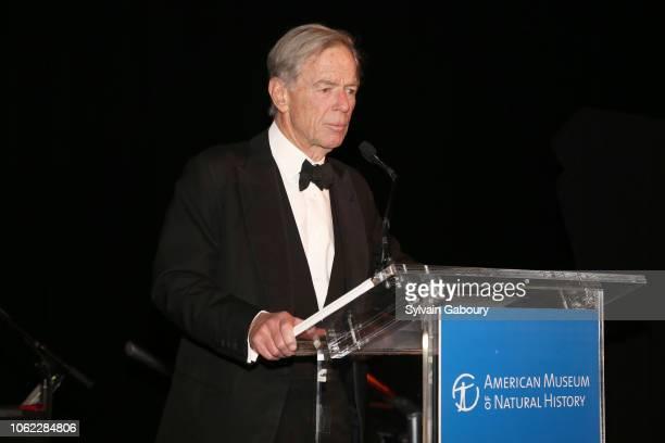 John Eastman speaks at American Museum Of Natural History's 2018 Museum Gala at American Museum of Natural History on November 15 2018 in New York...