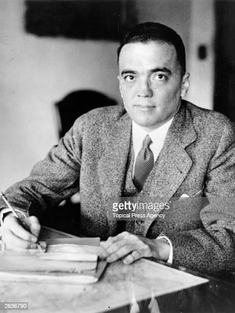 John Edgar Hoover director of the Federal Bureau of Investigations