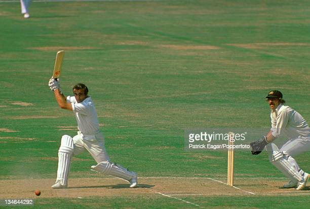 John Edrich and Rod Marsh, England v Australia, 2nd Test, Lord's, July 1975.