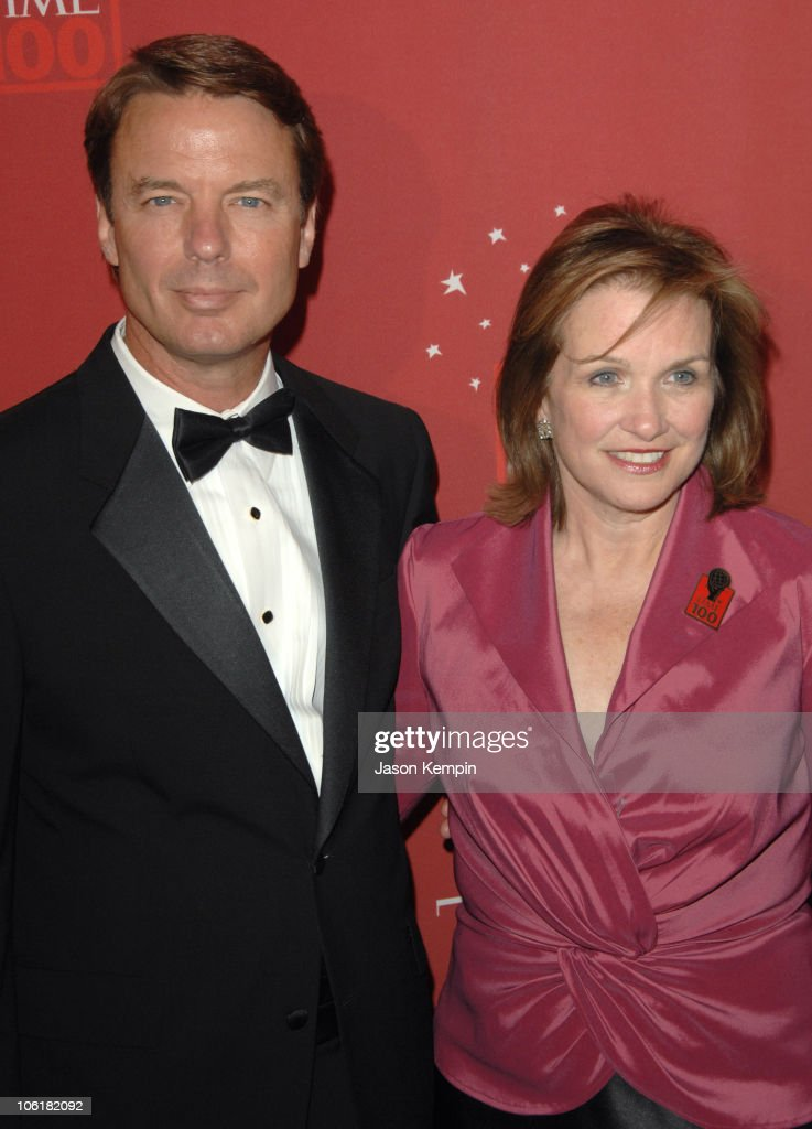 John Edwards and Elizabeth Edwards during Time Magazine's 100 Most Influential People 2007 - Red Carpet Arrivals at Jazz at Lincoln Center in New York City, New York, United States.