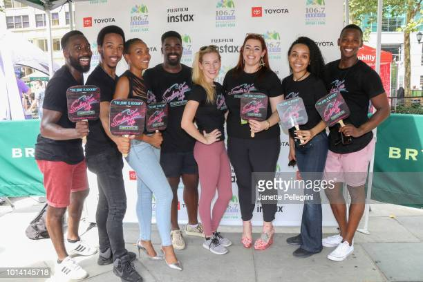 John Edwards Dwayne Cooper Dionne D Figgins Kyle Taylor Parker Emma Degerstedt Alysha Umphress Nicole Vanessa Ortiz and Jelani Remy from the cast of...