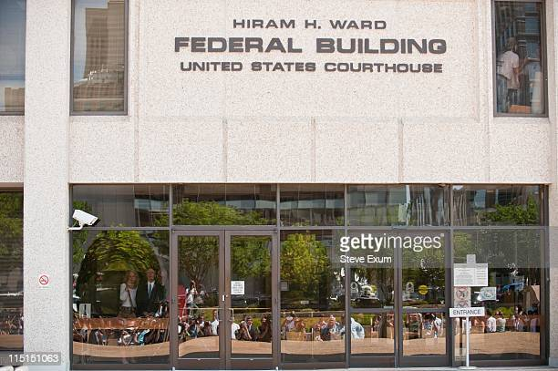 John Edwards exits the Federal Courthouse on June 3, 2011 in Winston Salem, North Carolina. A federal grand jury indicted John Edwards, the former...