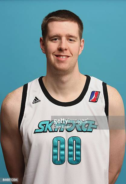 John Edwards of the Sioux Falls Skyforce poses for a portrait on January 10 2009 at the Sioux Falls Arena in Sioux Falls South Dakota NOTE TO USER...