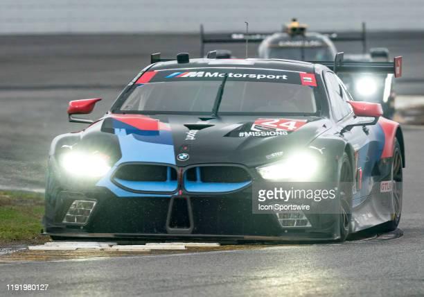 John Edwards USA Augusto Farfus BRA Chaz Mostert AUS Jesse Krohn FIN driver GT LE MANS of BMW Team RLL~BMW M8 GTE during the Roar before 24 IMSA Race...