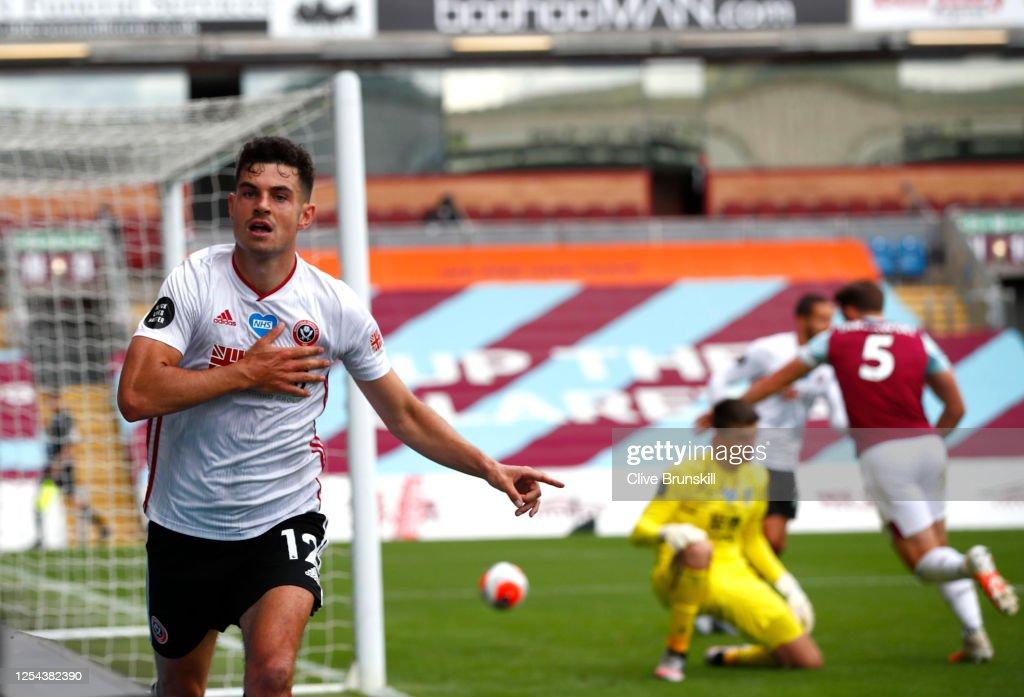 Burnley FC v Sheffield United - Premier League : News Photo
