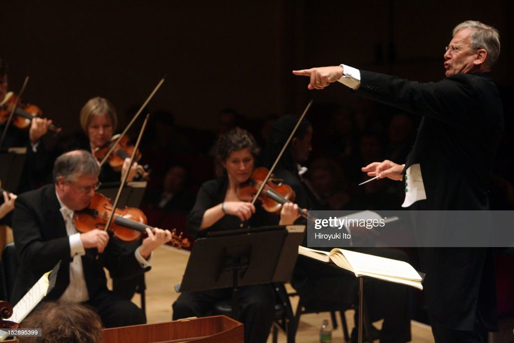John Eliot Gardiner : News Photo
