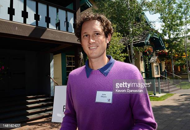 John Elkann chairman of Fiat Spa attends Allen Company's Sun Valley Conference on July 11 2012 in Sun Valley Idaho Since 1983 the investment firm...