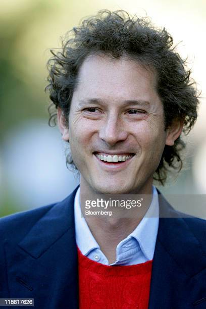 John Elkann chairman of Fiat Spa attends the Allen Co Media and Technology Conference in Sun Valley Idaho US on Saturday July 9 2011 Media executives...