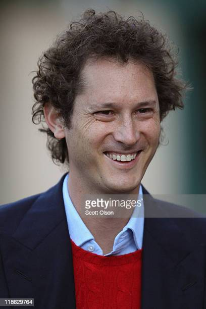 John Elkann chairman of Fiat Spa attends the Allen Company Media and Technology Conference on July 9 2011 in Sun Valley Idaho The conference has been...