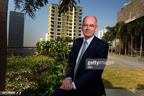 John Elkington, Founding Partner and Executive Chairman of Volans and Co-founder of SustainAbility, posing for a profile shoot on December 10, 2013...
