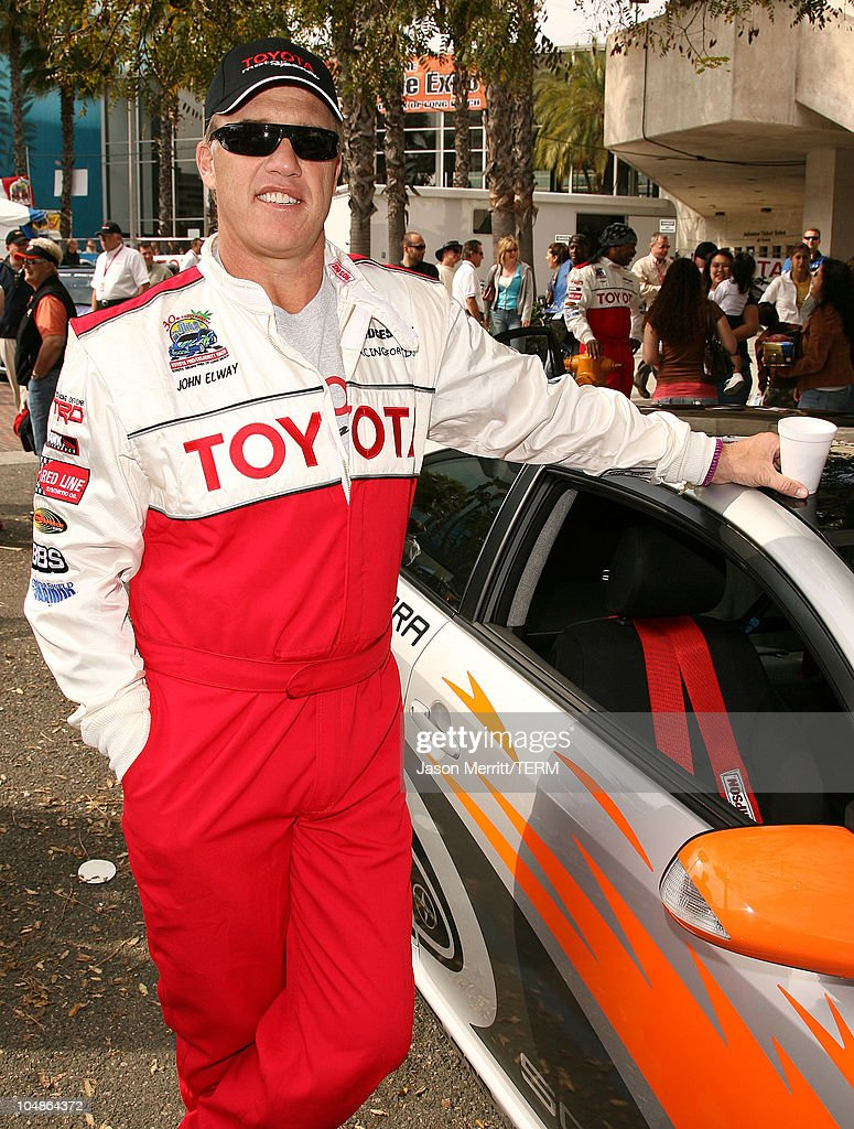 John Elway Toyota >> John Elway During 30th Anniversary Toyota Pro Celebrity Race