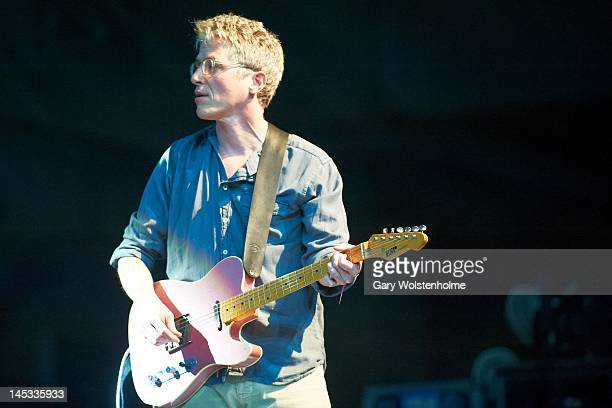 John Engle of Codeine perform on stage during ATP Festival at Alexandra Palace on May 26 2012 in London United Kingdom