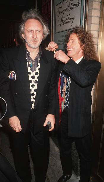 b17235bda52ab3 John Entwistle and Roger Daltrey of The Who during  The Who s Tommy  Broadway  Opening