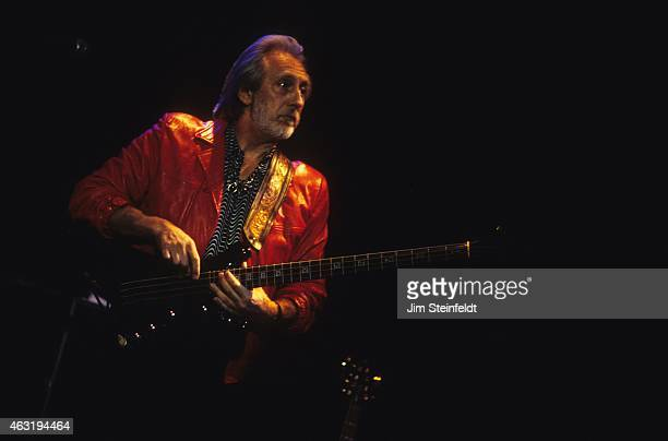 John Entwistle bassist of The Who performs at The House of Blues in Los Angeles Caifornia on February 11 1998