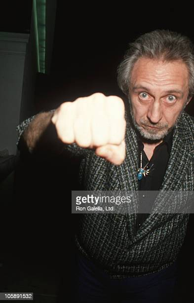 John Entwistle of The Who during John Entwistle Sighted at China Club January 28 1991 at China Club in Hollywood California United States