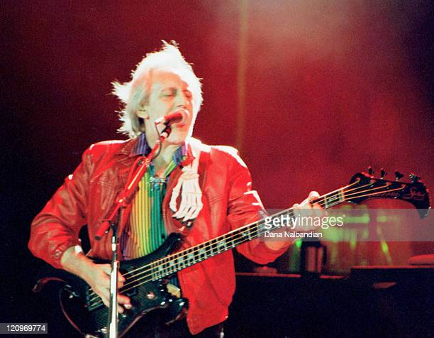 John Entwistle of The Who during The Who Performs at the Gorge in George August 19 2000 at The Gorge in George in George Washington United States