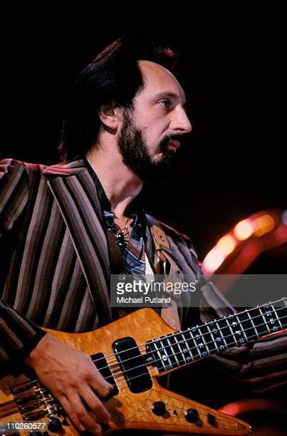 John Entwistle of The Who performs on stage USA 1980