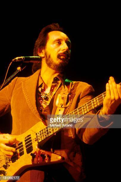John Entwistle of the Who performs on stage USA September 1979
