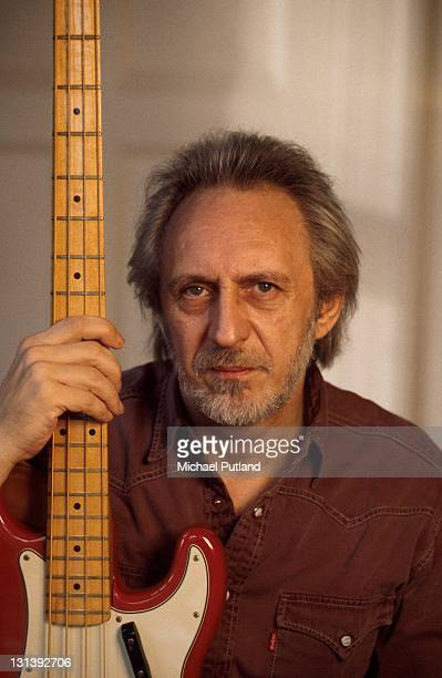 John Entwistle of The Who portrait at home UK 1998