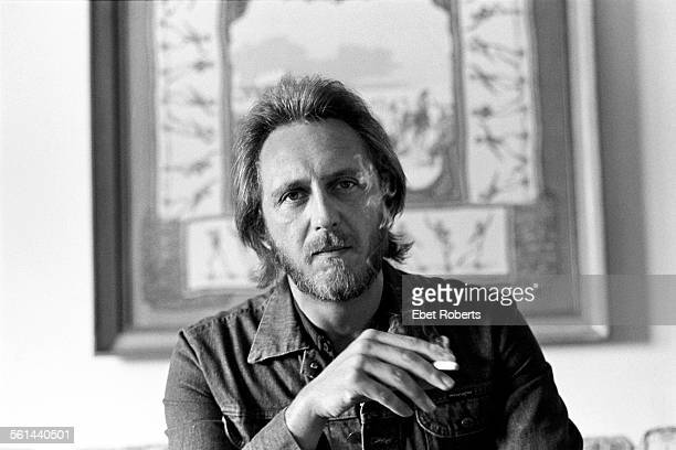 John Entwistle of The Who portrait in New York City on August 14 1981