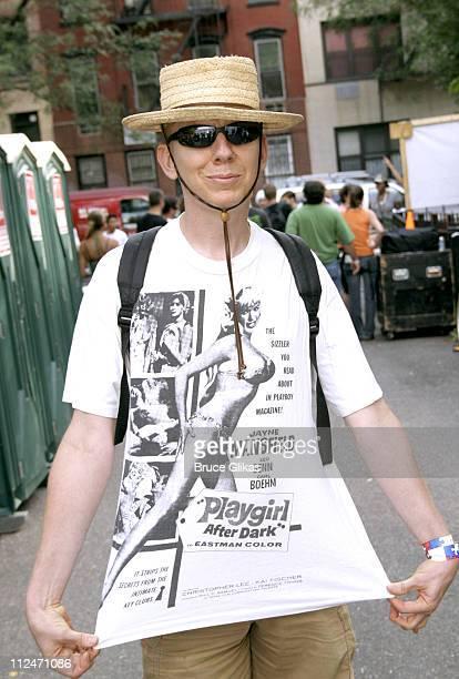 John Epperson AKA Lypsinka during Wigstock Festival 2005 at Tompkins Square Park in New York City, New York, United States.