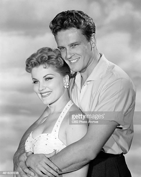 John Ericson as William Herrick and Debra Paget as Maria in the CLIMAX production of The Man Who Lost His Head Image dated July 13 1956