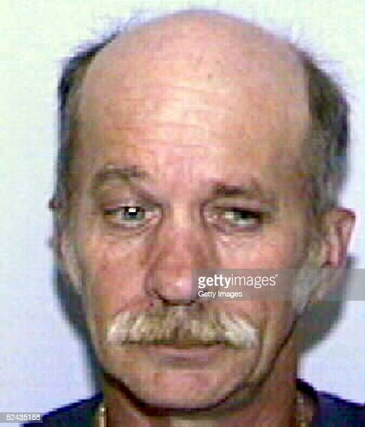 John Evander Couey is seen in this undated handout photo posted March 16 2005 on the Florida Department of Law Enforcement's Sex Offender/Predators...
