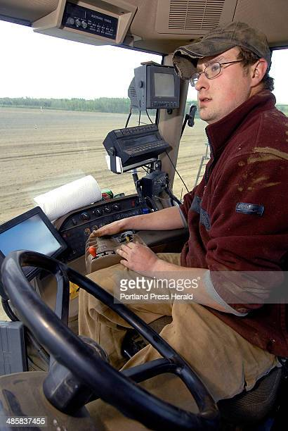 Monday May 19 2008 Hightech farming techniques utilizing GPS technology are allowing potato farms such as the Green Thumb Farm in West Fryeburg to...