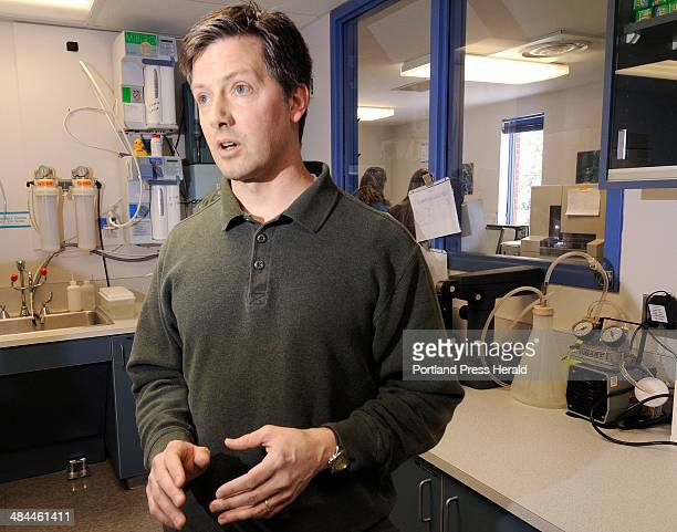 John Ewing/Staff Photographer: -- Tuesday, December 3, 2007 -- David Muniec, Forensic Biology Supervisor at the Maine State Police Crime lab in...
