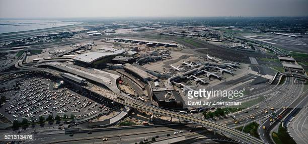 john f. kennedy international airport - kennedy airport stock pictures, royalty-free photos & images