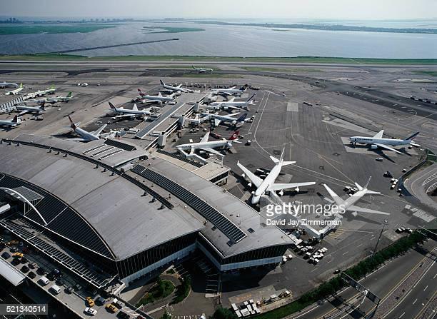 Aeroporto New York John F Kennedy : Aeroporto internazionale jfk foto e immagini stock getty