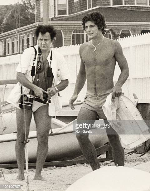John F Kennedy Jr and Ron Galella