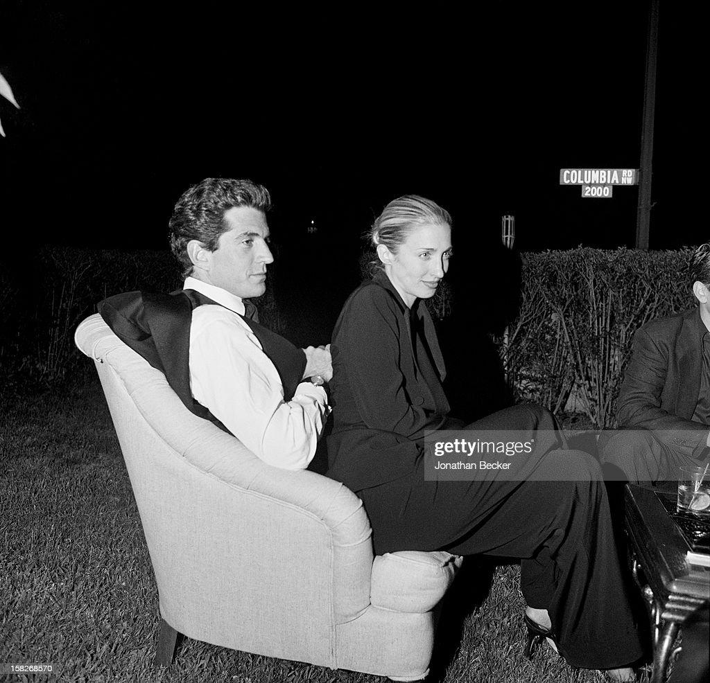 John F Kennedy Jr. and Carolyn Bessette-Kennedy, Vanity Fair, July 1, 1999